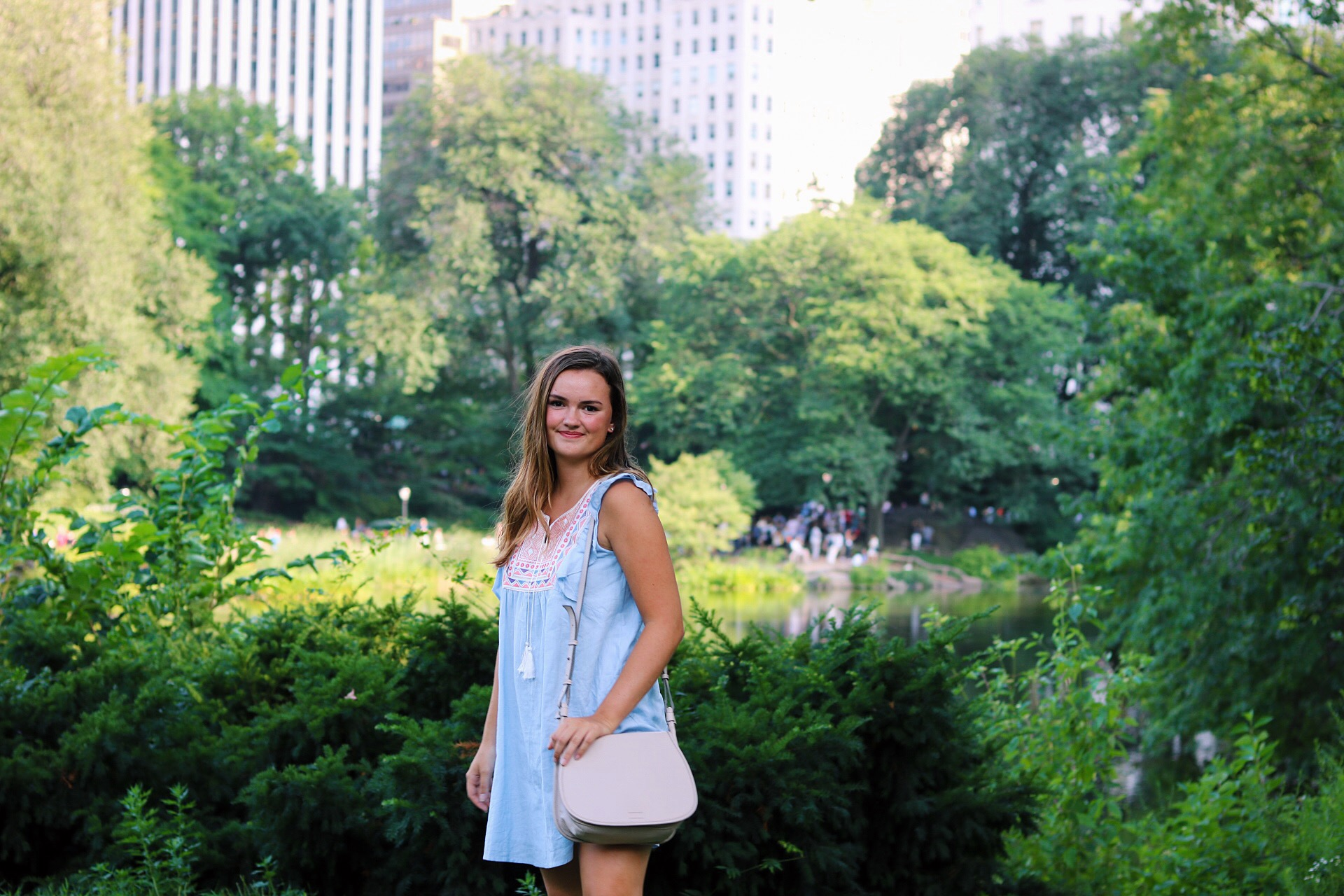 Chic wish Sundress in Central Park NYC