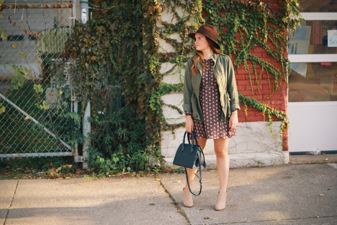 October Saturdays in Maude Dress