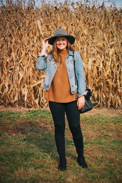 Fall Denim Looks at Beckwith Orchards