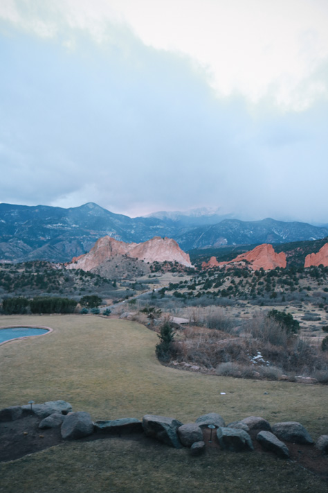 Visiting Colorado Hotel Garden of the Gods Resort in Colorado Springs and Winter Park Skiing and Tubing-5