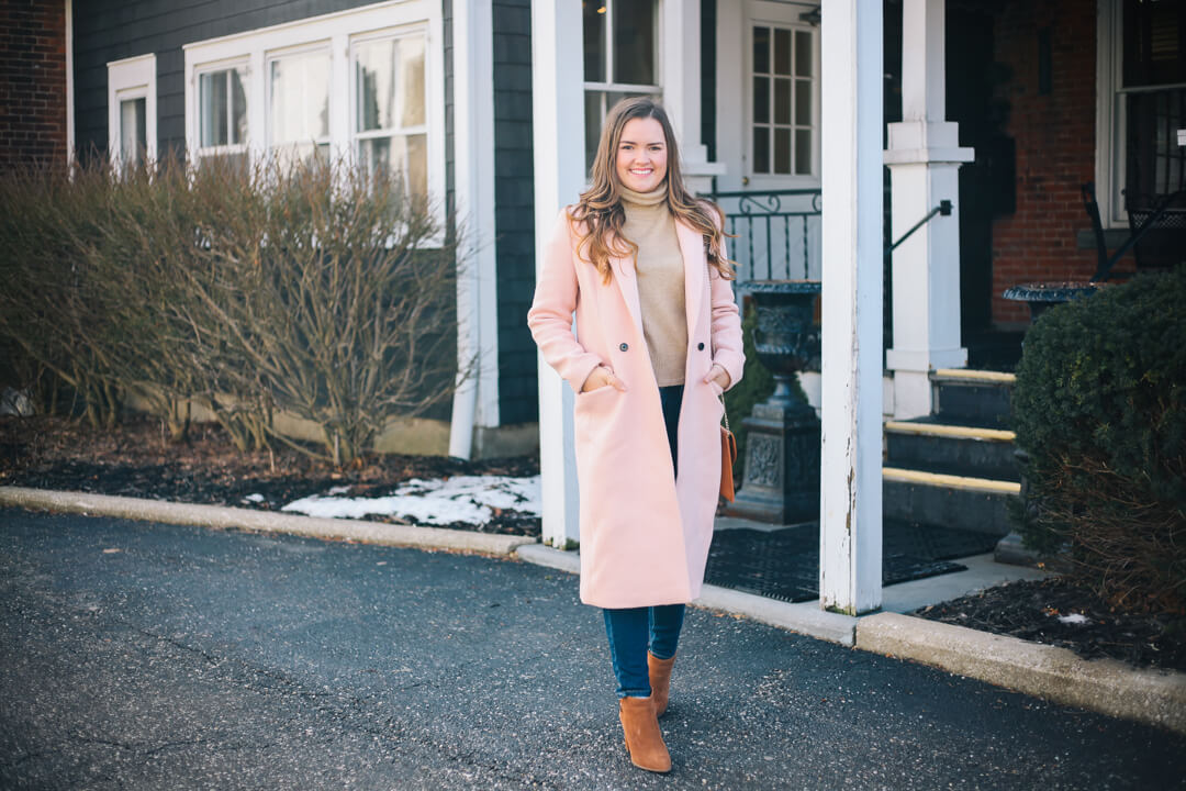 Love a Good Pink Coat- 10 Days of Love for Valentine's on Simply Poised