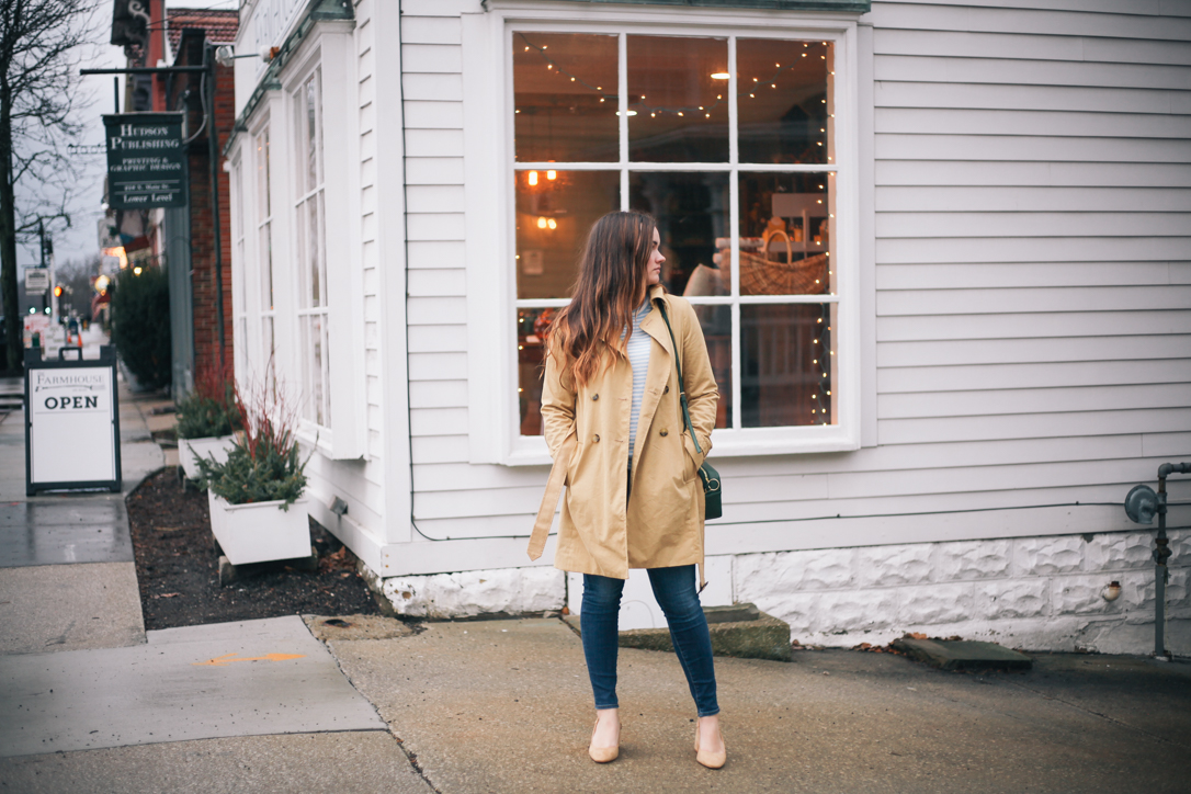 Winter Blues and Go To Trench Coat