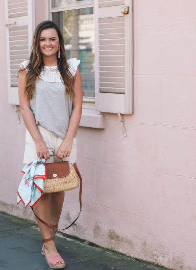 Straw Totes for Spring and Summer in Charleston