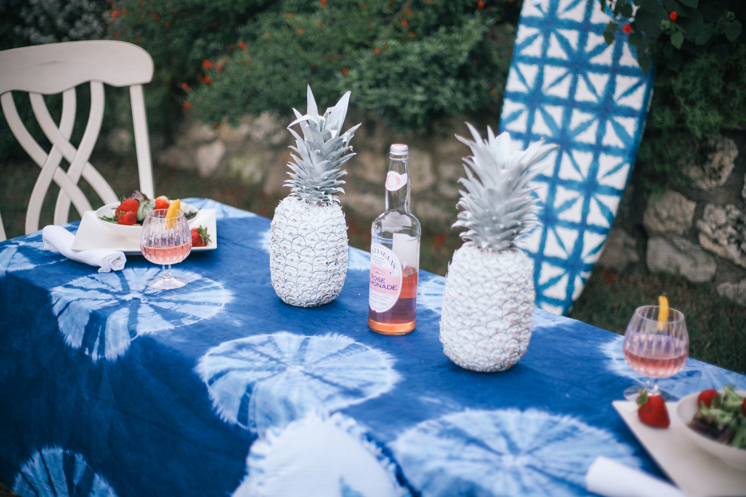Summer Party DIY Painted Pinaepples PB TEEN | Simplypoisedfashion.com @rachellaurenlucy